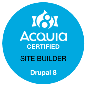 Acquia Certified Drupal 8 Site Builder